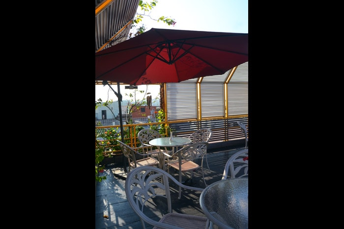 Sky High BBQ Garden Area (Level – 10)